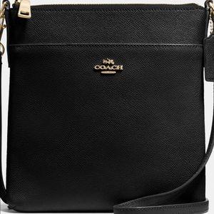 Coach Kitt Messenger Crossbody Bag in Black